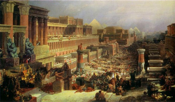 Departure of the Israelites (1830), by David Roberts