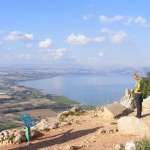 Mount Arbel, view of Sea of Galilee