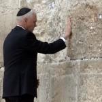 US VP Mike Pence, Western Wall, Jerusalem